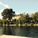 An diesem Fluss liegt das Gebäude, in dem der Schwedisch Sprachkurs stattfindet :) Sehr schön, in den Pausen hier zu entspannen.