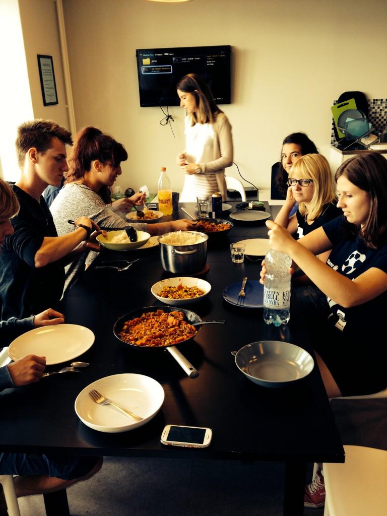 Reispfanne für 13 Leute!