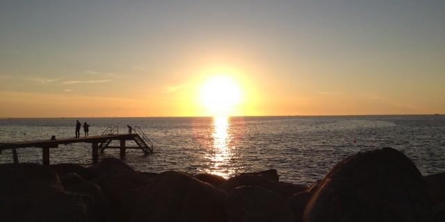 Sonne im Meer #1