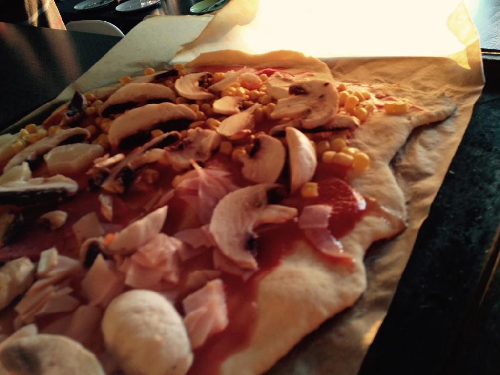 Pizza geht immer :)