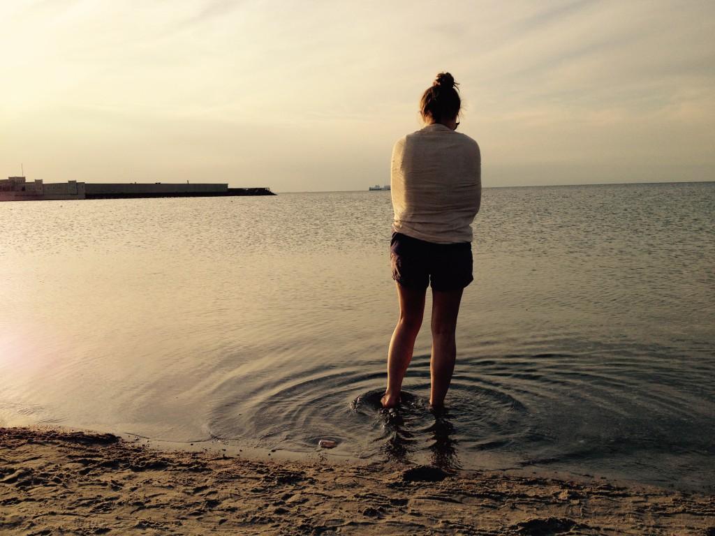 Johanna and those beautiful little circle waves