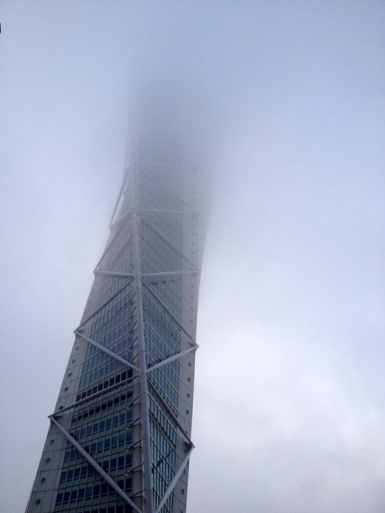 Foggy Turning Torso