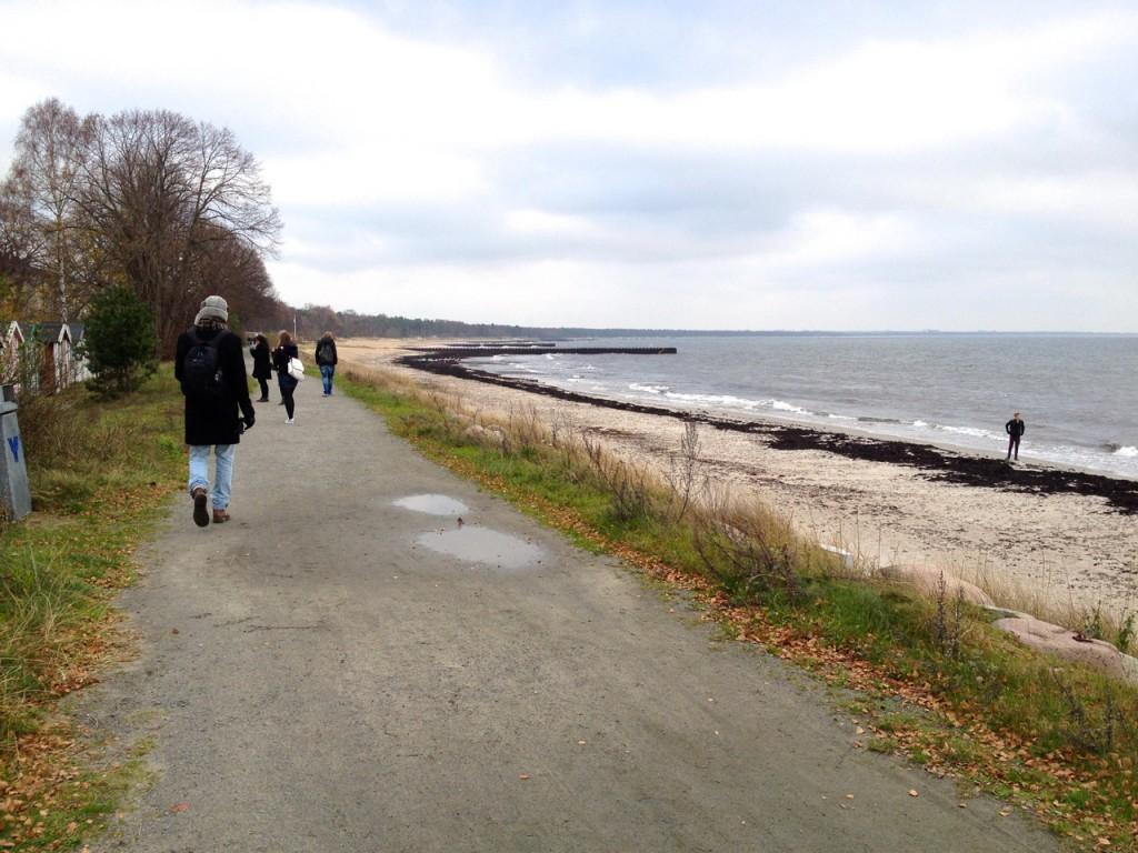 Ystad coast